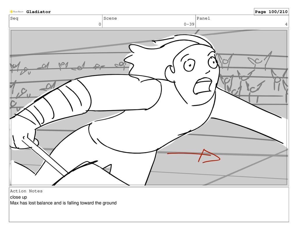 Seq 0 Scene 0-39 Panel 4 Action Notes close up ...