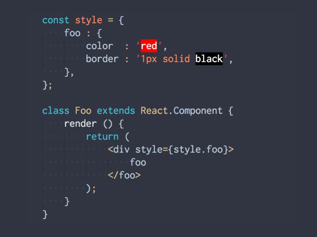CSS in JSͷίʔυྫ