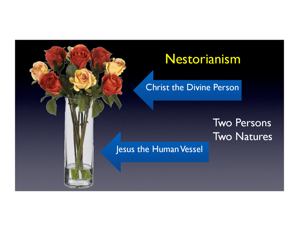 Nestorianism	 