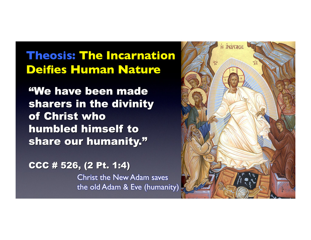 Theosis: The Incarnation