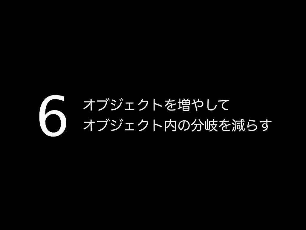 ΦϒδΣΫτΛ૿ͯ͠ ΦϒδΣΫτͷذΛݮΒ͢ 6