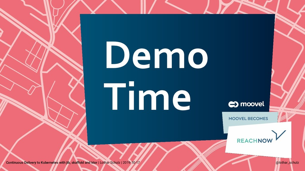 Demo Time Continuous Delivery to Kubernetes wit...