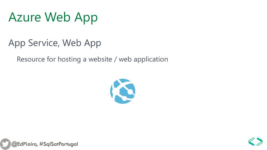 Azure Web App App Service, Web App Resource for...