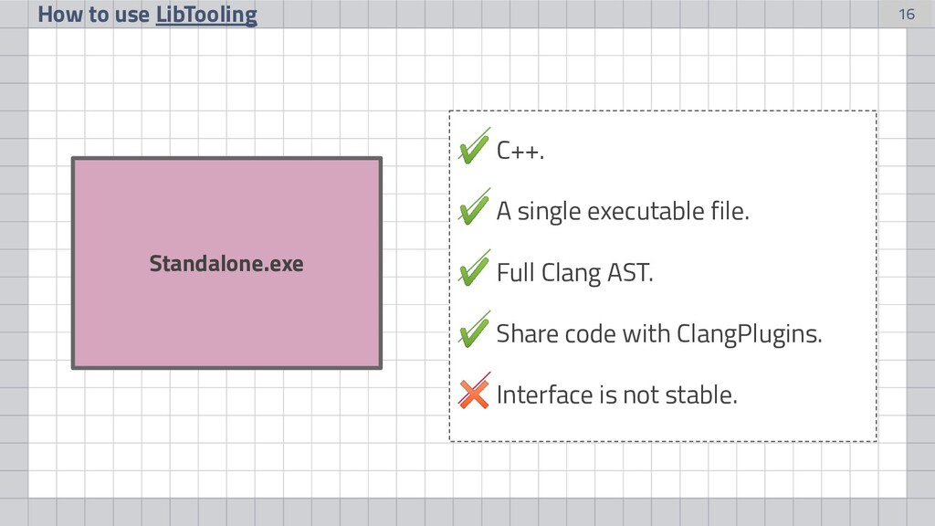 16 Standalone.exe How to use LibTooling ✔ C++. ...