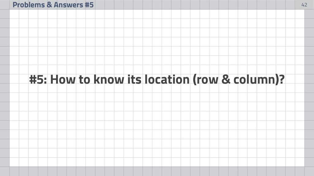 42 Problems & Answers #5 #5: How to know its lo...
