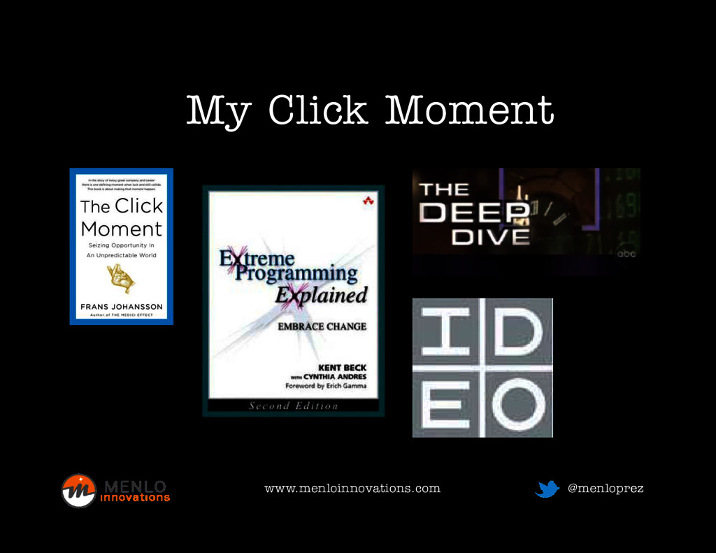 M Click Moment My Click Moment www.menloinnovat...