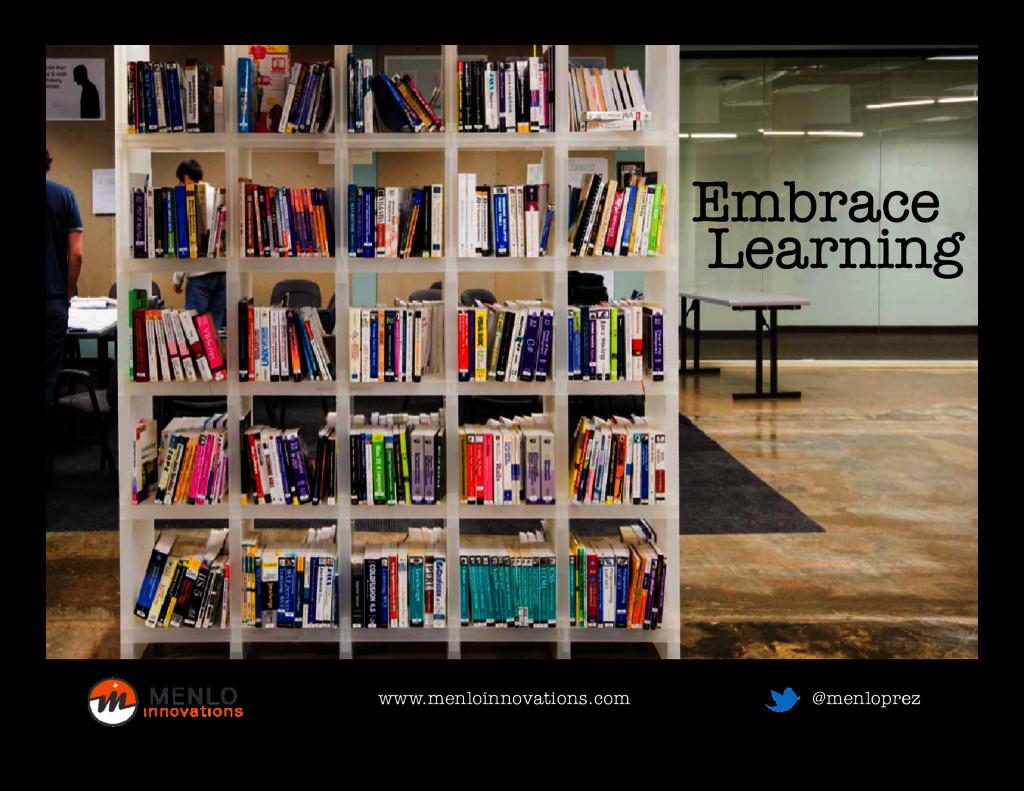 See teamwork Embrace Learning Learning www.menl...