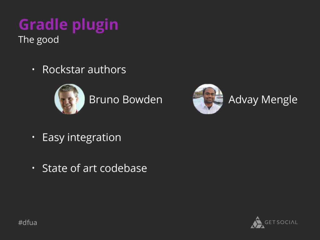 #dfua Gradle plugin • Easy integration • State ...