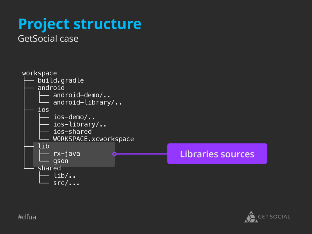 #dfua Libraries sources Project structure works...
