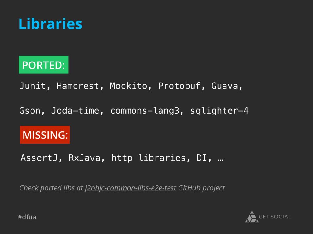 #dfua Check ported libs at j2objc-common-libs-e...