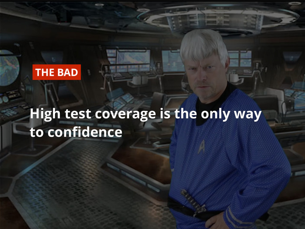 #dfua High test coverage is the only way to con...