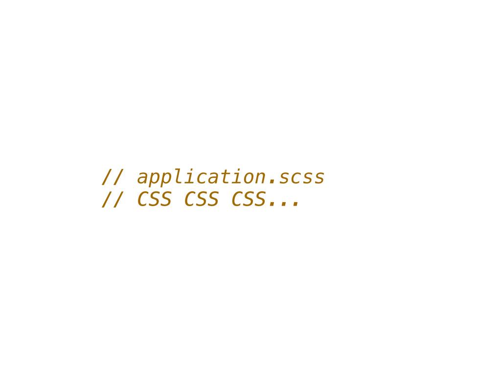 // application.scss // CSS CSS CSS...