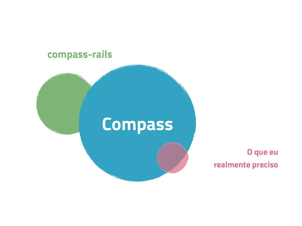 compass-rails Compass O que eu realmente preciso