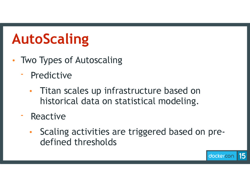 AutoScaling • Two Types of Autoscaling - Predic...