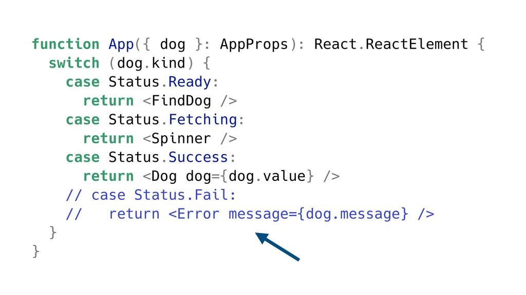 function App({ dog }: AppProps): React.ReactEle...