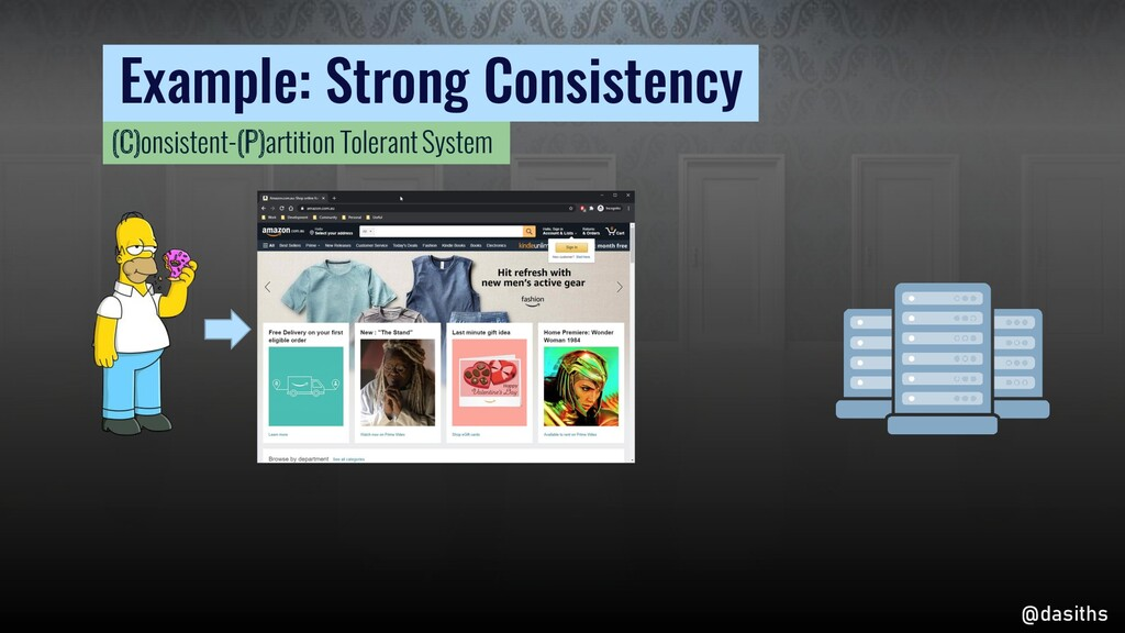 Example: Strong Consistency @dasiths (C)onsiste...