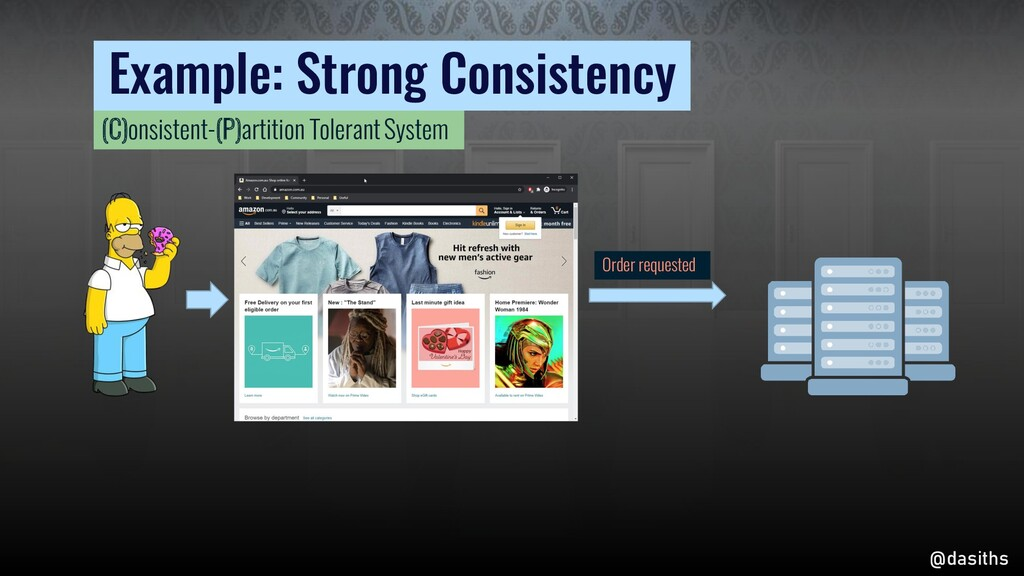 Example: Strong Consistency Order requested @da...