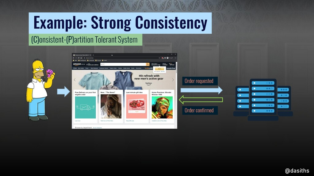 Example: Strong Consistency Order confirmed Ord...
