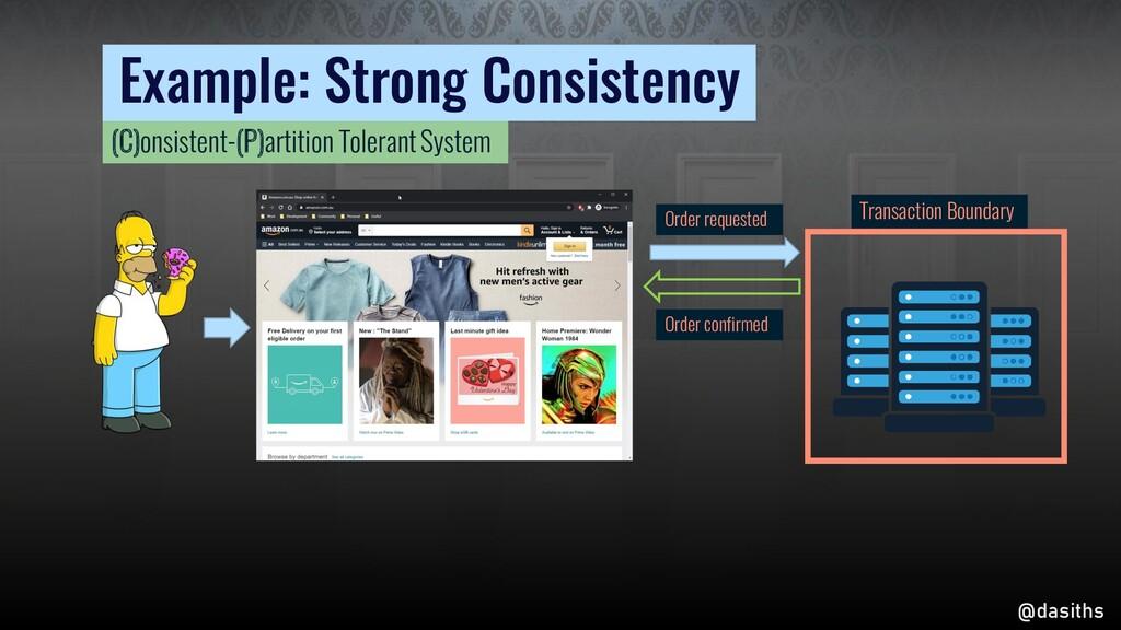 Example: Strong Consistency Transaction Boundar...