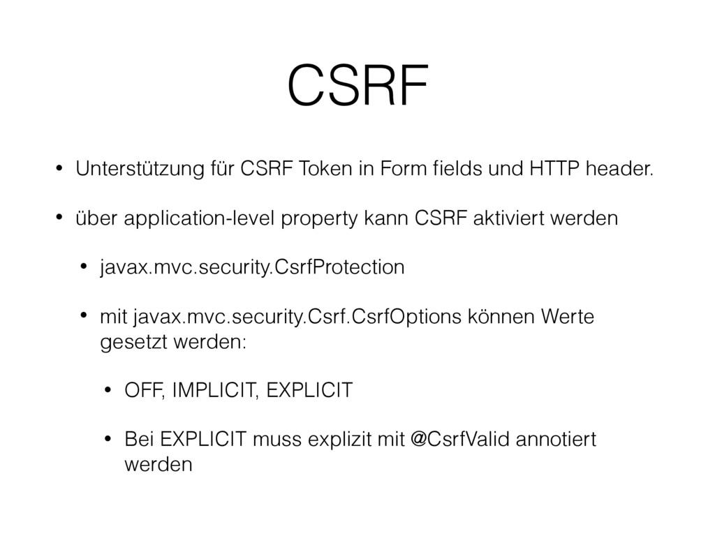 CSRF • Unterstützung für CSRF Token in Form fiel...