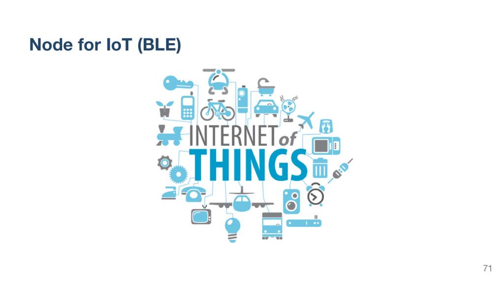 Node for IoT (BLE) 71
