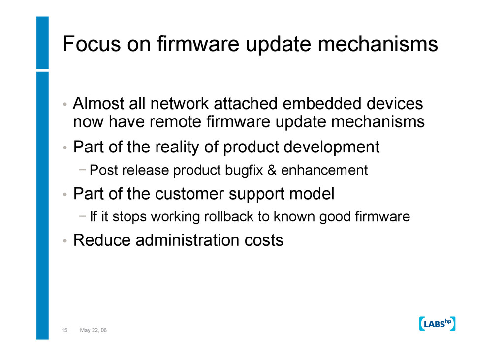 15 May 22, 08 Focus on firmware update mechanis...