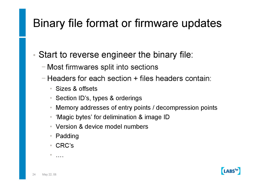 24 May 22, 08 Binary file format or firmware up...