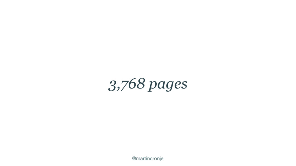 @martincronje 3,768 pages