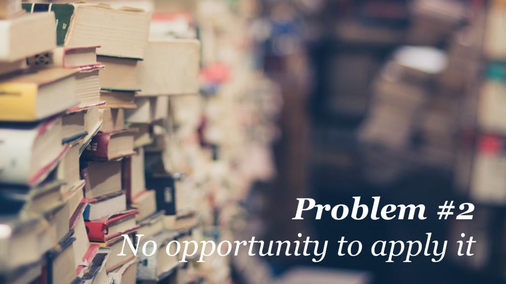 @martincronje Problem #2 No opportunity to appl...