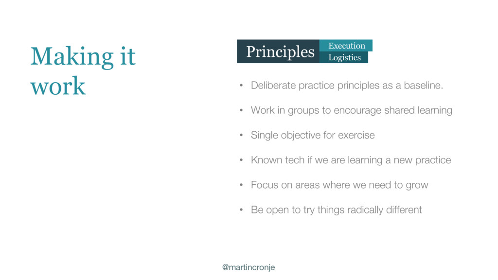 @martincronje • Deliberate practice principles ...