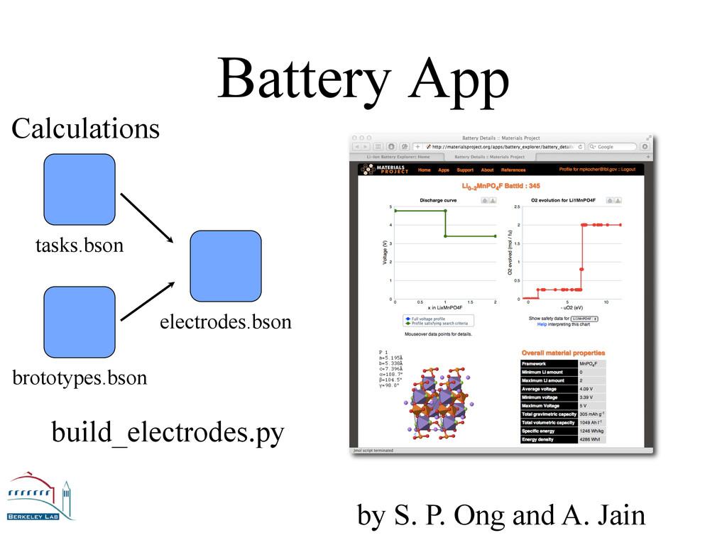 Battery App tasks.bson brototypes.bson electrod...