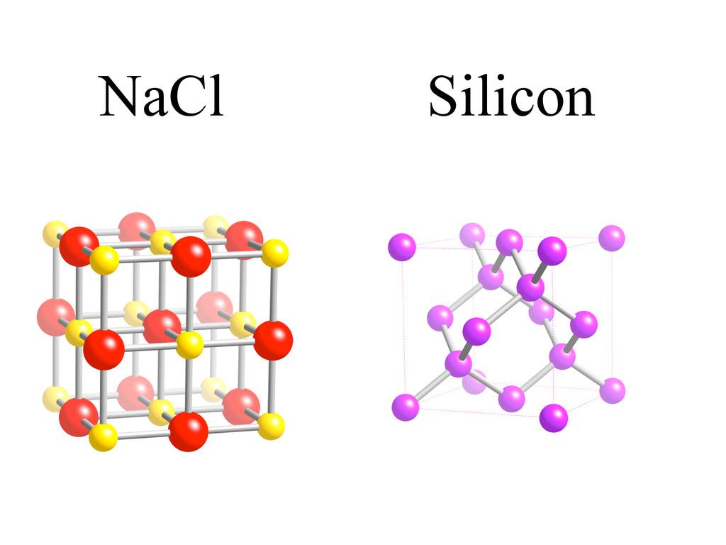 NaCl Silicon