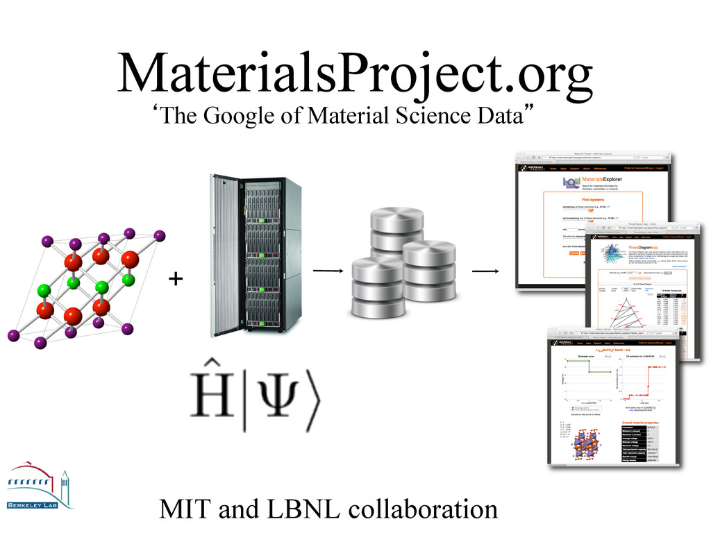 MIT and LBNL collaboration 'The Google of Mater...