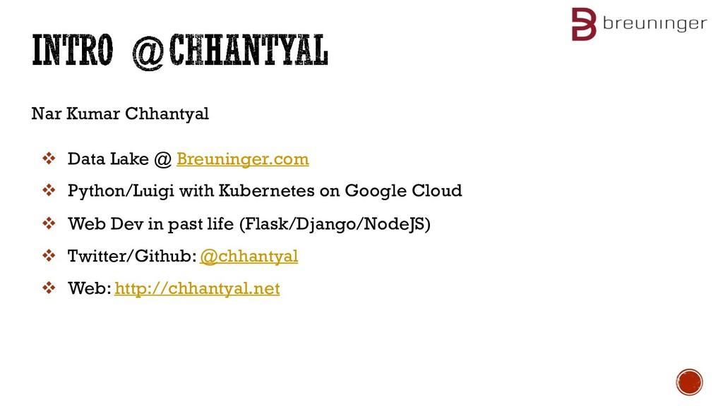 Nar Kumar Chhantyal v Data Lake @ Breuninger.co...