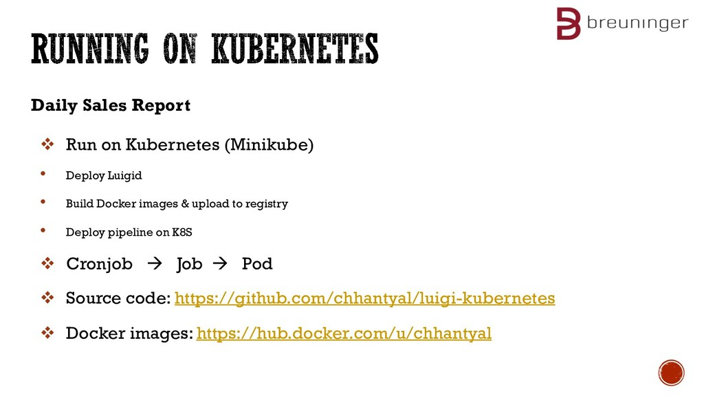 Daily Sales Report v Run on Kubernetes (Minikub...