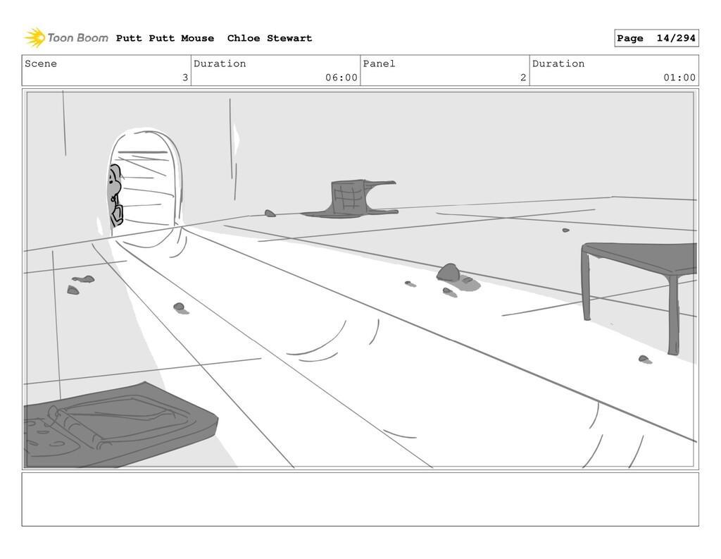 Scene 3 Duration 06:00 Panel 2 Duration 01:00 P...