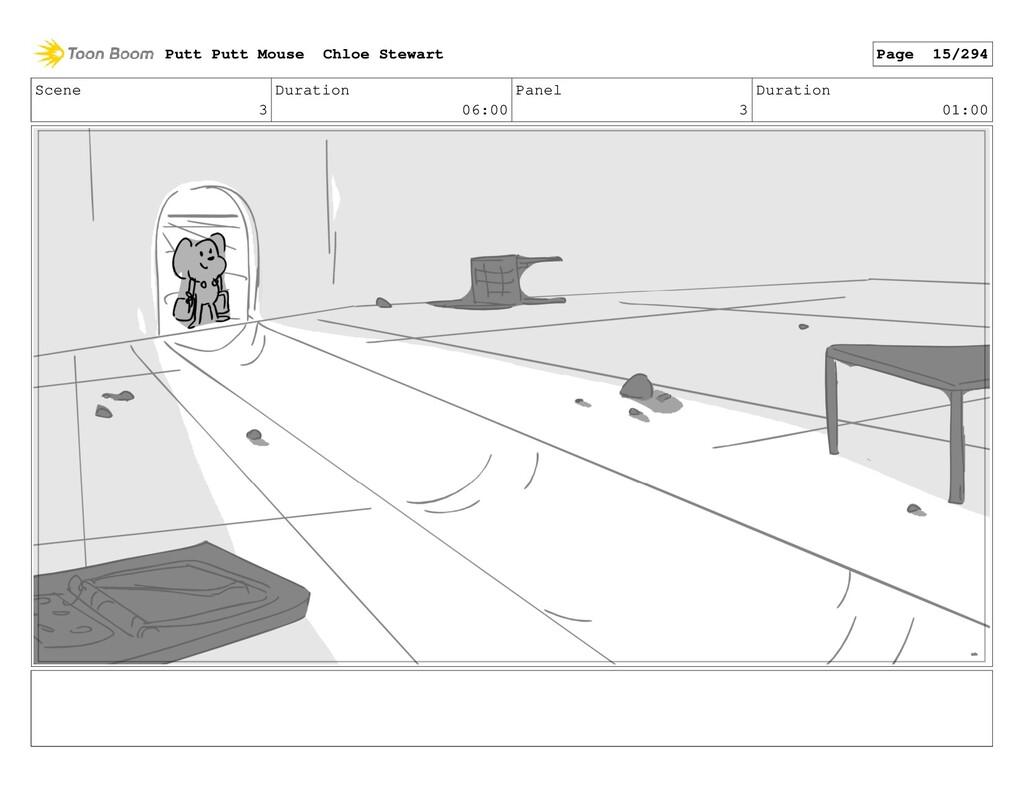 Scene 3 Duration 06:00 Panel 3 Duration 01:00 P...