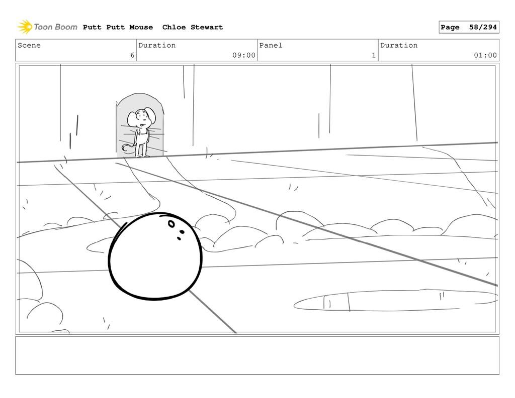 Scene 6 Duration 09:00 Panel 1 Duration 01:00 P...