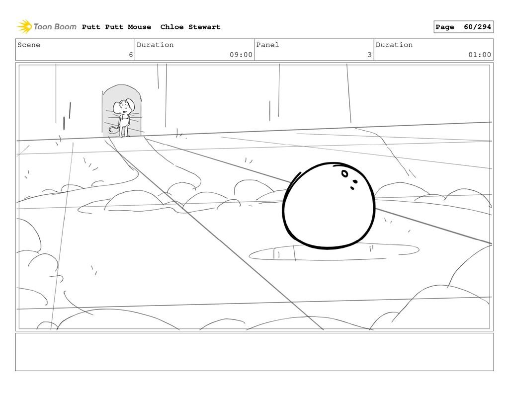 Scene 6 Duration 09:00 Panel 3 Duration 01:00 P...