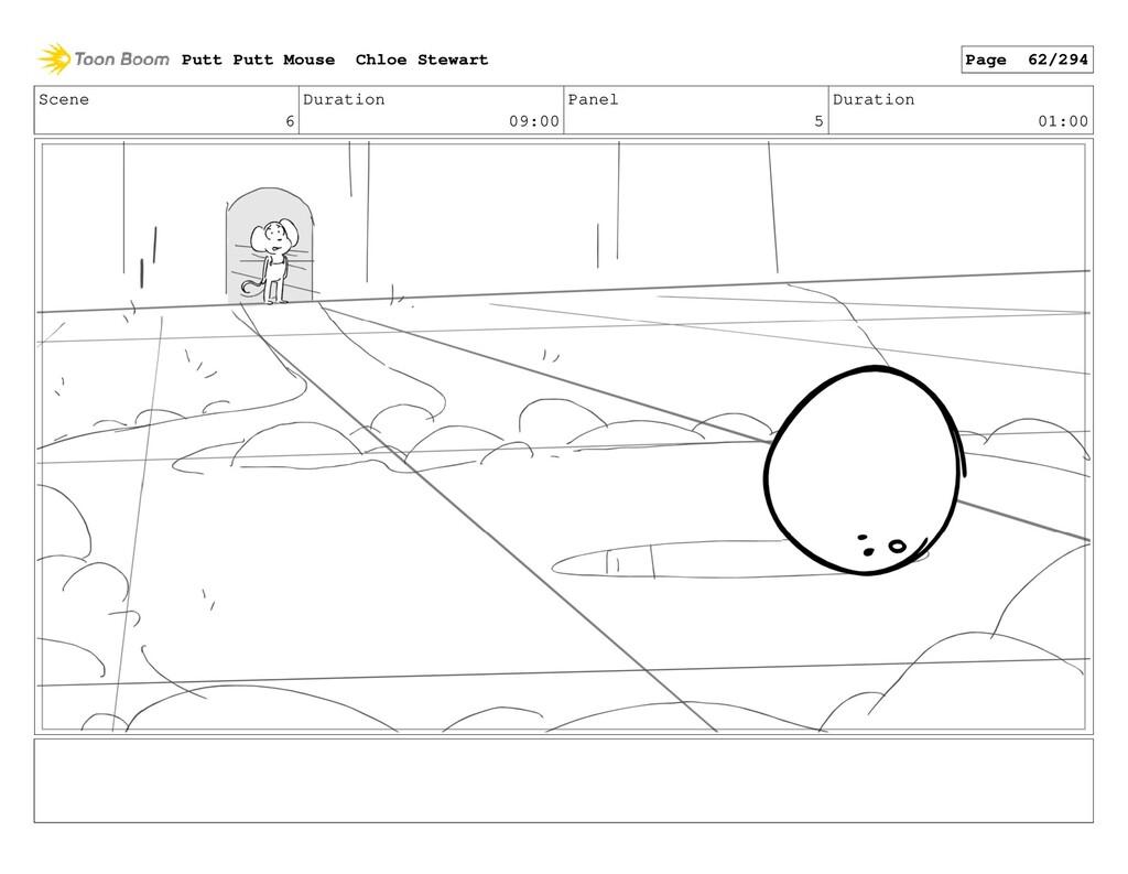 Scene 6 Duration 09:00 Panel 5 Duration 01:00 P...