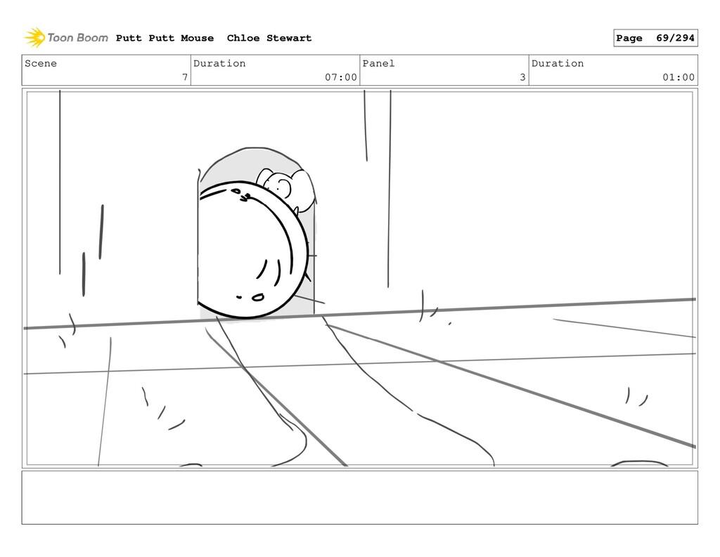 Scene 7 Duration 07:00 Panel 3 Duration 01:00 P...