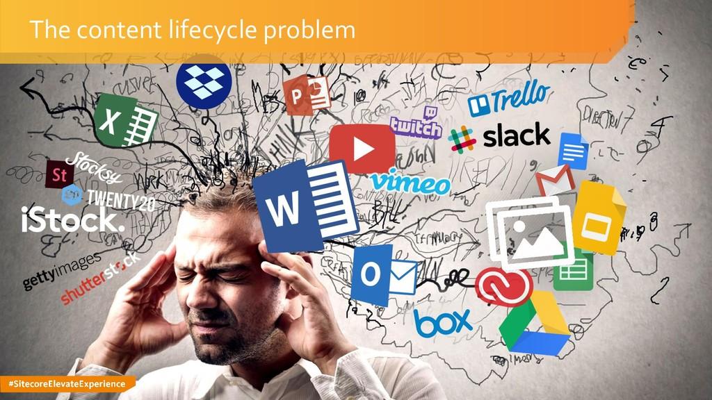 #SitecoreElevateExperience The content lifecycl...