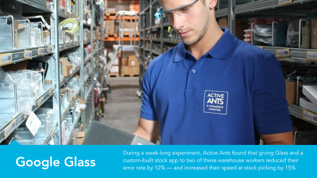 Google Glass During a week-long experiment, Act...