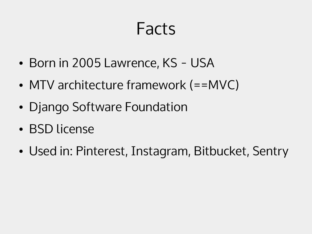 Facts ● Born in 2005 Lawrence, KS - USA ● MTV a...