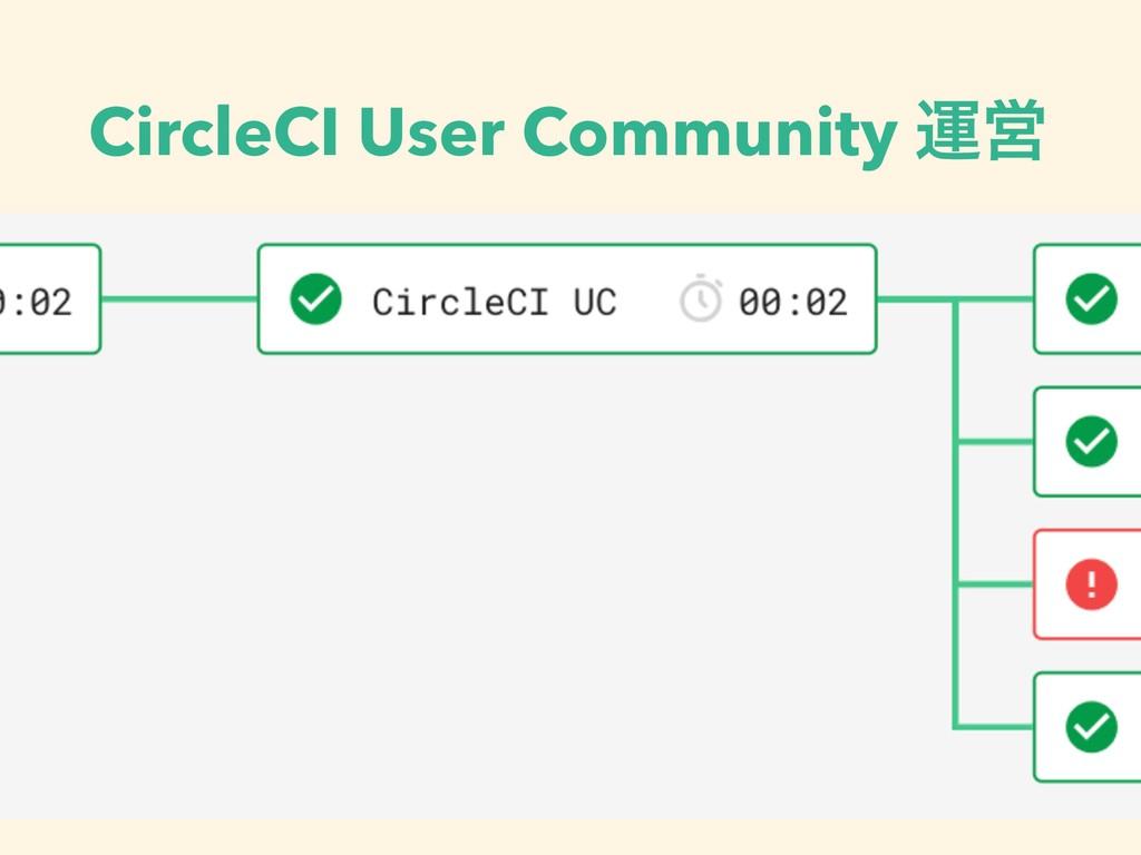 CircleCI User Community ӡӦ