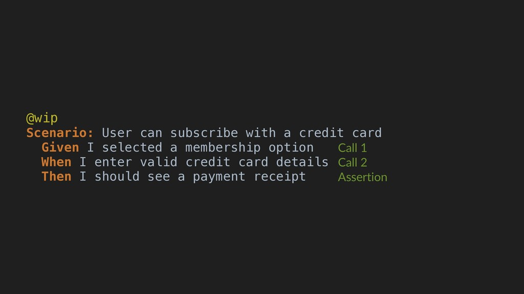 @wip Scenario: User can subscribe with a credit...