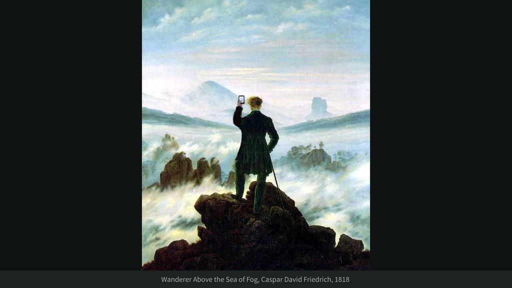 Wanderer Above the Sea of Fog, Caspar David Fri...