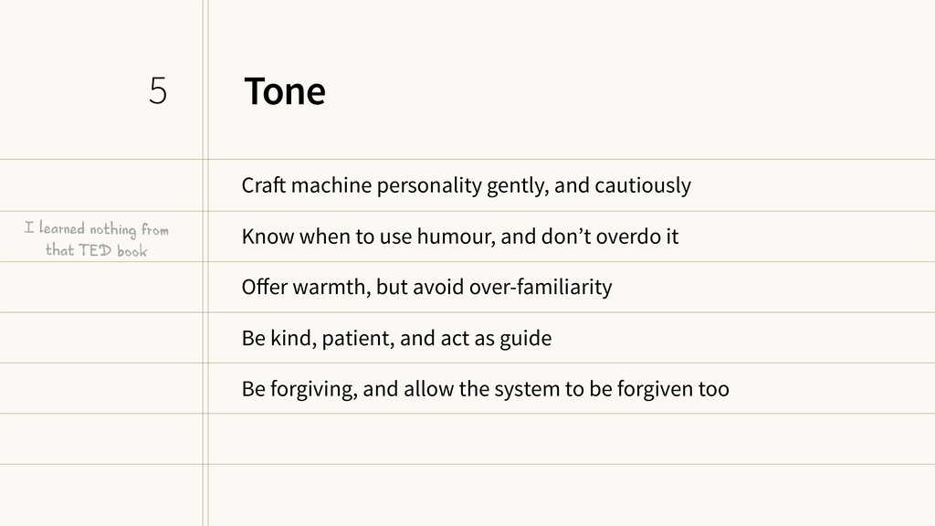 Tone Craft machine personality gently, and caut...