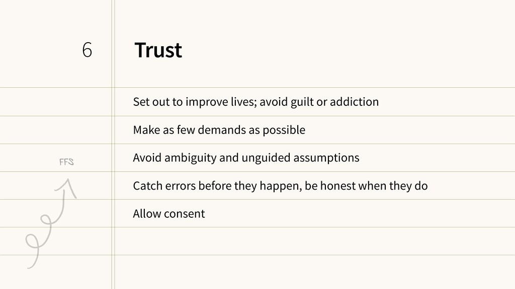 Trust Set out to improve lives; avoid guilt or ...