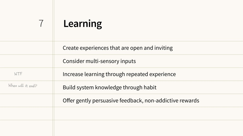 Learning Create experiences that are open and i...